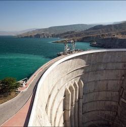 Чиркейская ГЭС  - самая красивая плотина в России