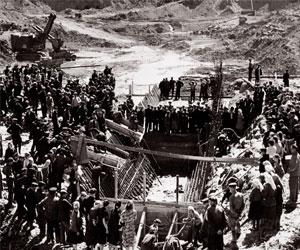 Курейская ГЭС. Строительство и история